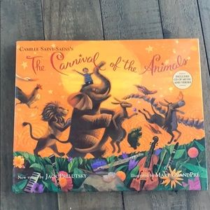The Carnival of the Animals Hard cover book 🦓🦋
